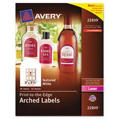 Arched Avery Labels