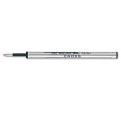 Refills for Selectip Gel Roller Ball Pen, Medium, Black Ink