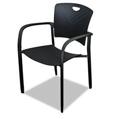 Oui Stack Chair, Polypropylene Back/seat, 2 Chairs/Carton BLT34718