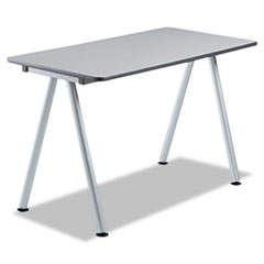 OfficeWorks Freestyle Table Top, 48w x 24d, Gray ICE68207
