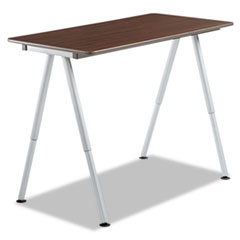 OfficeWorks Freestyle Table Top, 48w x 24d, Walnut ICE68204