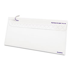 Gold Fibre Simply Safe Business Envelope, #10, 4 1/8 x 9 1/2, White, 500/Box