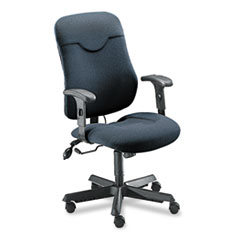 Comfort Series Executive Posture Chair, Gray Fabric