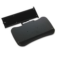 Retractable Keyboard Platform, 19½w x 11d, Black MLN19500TA
