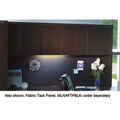 Aberdeen Series Laminate Wood Door Hutch, 72w x 15d x 39 1/8h, Mocha