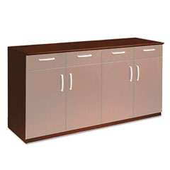 Wood Veneer Buffet Credenza Cabinet, 72w x 22d x 36h, Sierra Cherry