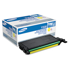 CLTY508S Toner, 2,000 Page-Yield, Yellow