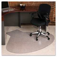 66x60 Workstation Chair Mat Professional Series Anchorbar For Carpet Up To 3 4