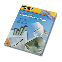 LASER COPIER TRANSPARENCY FILM, LETTER, CLEAR, 100/BOX