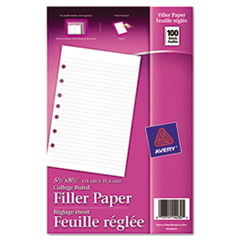 Win FREE Avery Binder Filler Paper