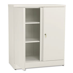 MotivationUSA * Easy-to-Assemble Storage Cabinet, 36w x 18d x 42-3/4h, Putty at Sears.com