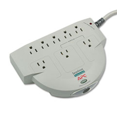 Professional SurgeArrest Surge Protector, 8 Outlets, 6 ft Cord, 320 Joules