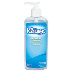 KLEENEX Instant Hand Sanitizer, 8oz, Pump Bottle, Sweet Citrus, 12/Carton