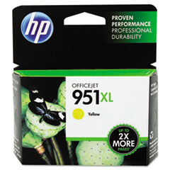 HP 951XL, (CN048AN) High Yield Yellow Original Ink Cartridge