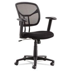 Swivel/Tilt Mesh Task Chair, Black OIFMT4818