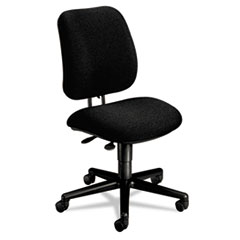 COU ** 7700 Series Multi-Task Swivel chair, Black