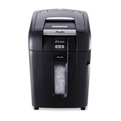 Stack-and-Shred 500X Heavy-Duty Cross-Cut Shredder, 500 Sheet Capacity SWI1757577