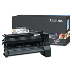 C7702KS Toner, 6,000 Page-Yield, Black