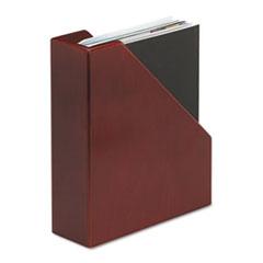 Wood Tones Magazine File, 3 1/2 x 10 1/4 x 11 3/4, Mahogany ROL4079