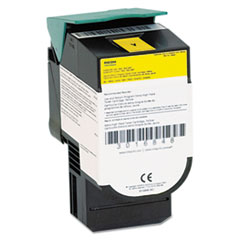 39V2433 Extra-High-Yield Toner, 4,000 Page Yield, Yellow