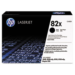 HP 82X, (C4182X) High Yield Black Original LaserJet Toner Cartridge