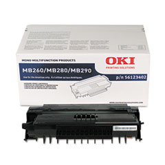 56123402 Toner, 5,500 Page Yield, Black