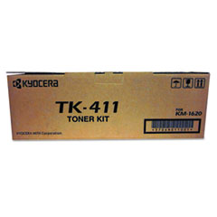 TK411 Toner, 15,000 Page-Yield, Black
