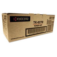 TK827M Toner, 7,000 Page-Yield, Magenta