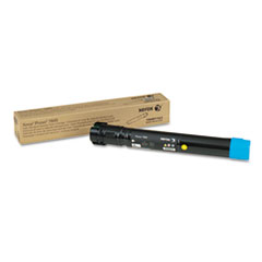 106R01563 High-Yield Toner, 6000 Page-Yield, Cyan