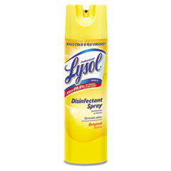 Disinfectant Spray, Original Scent, 19 oz Aerosol Can