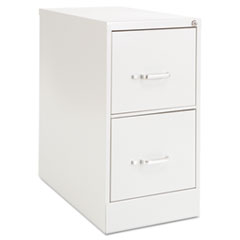 Two-Drawer Economy Vertical File, Letter, 15w x 26 1/2d x 29h, Light Gray