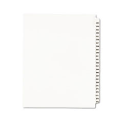 MotivationUSA * Avery-Style Legal Side Tab Divider, Title: 251-275, Letter, White, 1 S at Sears.com