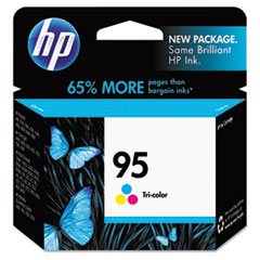 HP 95, (C8766WN) Tri-color Original Ink Cartridge
