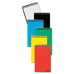 Wirebound Pocket Memo Book, Narrow, 3 x 5, White, 50 Sheets TOP25093