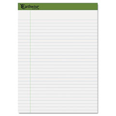 Earthwise by Ampad Recycled Writing Pad, 8 1/2 x 11 3/4, WE, 40 SH, 4/PK