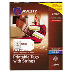 Avery String Tags
