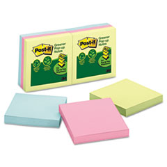Post-it® Greener Notes Original Recycled Pop-up Notes