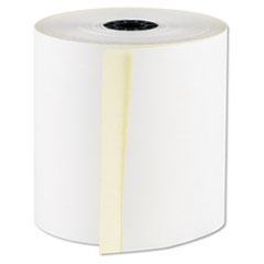 "RegistRolls Two-Part Carbonless POS Rolls, 3"" x 100, White, 30/Carton"
