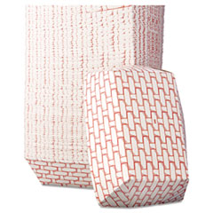 BOARDWALK 5LB PAPER FOOD  BASKET RED/WHITE 500CT