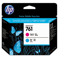 HP 761, (CH646A) Cyan/Magenta Printhead