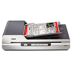 GT-1500 Flatbed Color Image Scanner, 600dpi, Manual Paper Feeder