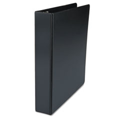 "D-Ring Binder, 1-1/2"" Capacity, 8-1/2 x 11, Black"