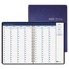 COU ** Weekly Appointment Book, Half-Hour Appointments, 8-1/2 x 8-1/4, Blue, at Sears.com