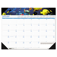 COU ** Sea Life Photographic Monthly Desk Pad Calendar, 18-1/2 x 13, 2013 at Sears.com