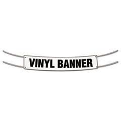 Banner, 2 x 4, White