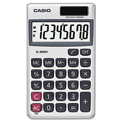 Casio Pocket Calculator CSOSL300SV