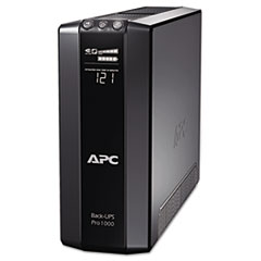 BR1000G Back-UPS Pro 1000 Battery Backup System, 8 Outlets, 1000 VA, 355 J
