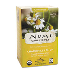ORGANIC TEAS AND TEASANS, 1.8 OZ, CHAMOMILE LEMON, 18/BOX