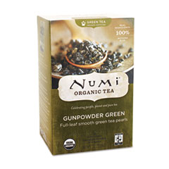 ORGANIC TEAS AND TEASANS, 1.27 OZ, GUNPOWDER GREEN,