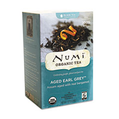 ORGANIC TEAS AND TEASANS, 1.27 OZ, AGED EARL GREY,